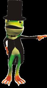 top hat frog