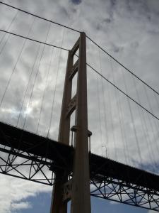 Photo by Vicky Lorencen Mackinaw Bridge, Michigan
