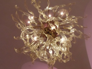 Photo by Vicky Lorencen Chandelier, Grand Hyatt, Manhattan