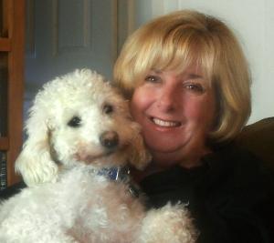 Hazel and her beloved friend Toby