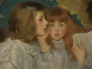 Photo by Vicky Lorencen Painting  by Sir James Jebusa Shannon, Metropolitan Museum of Art
