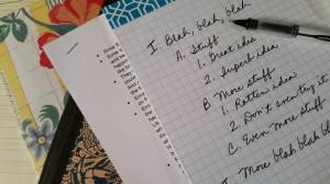 I hate outlining